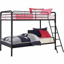 Bunk Bed Dorel Dhp Twin Over Twin Metal Bunk Bed Multiple Colors Walmartcom