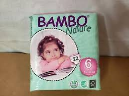 Details About Bambo Nature Baby Diapers Classic Size 6 35 66 Lbs 132 Count 6 Packs Of 22