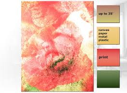 blush pink poppies wall print set of 3
