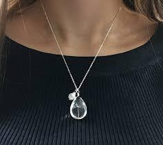 swarovski crystal pearl charm