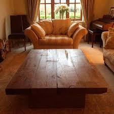 large oak coffee table sleeper coffee
