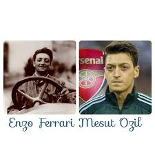Footballer mesut ozil and his look alike enzo ferrari sports nigeria reincarnation between mesut ozil and enzo ferrari legit ng this is amazing born 1988 died 1988 mesut ozil enzo ferrari founder is arsenal fc s mesut ozil immortal star looks exactly like enzo 13 unbelievable coincidences that leave us with many questions about the re birth of. Facebook