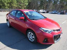 2016 Used Toyota Corolla 4dr Sedan CVT S at Landers Ford Serving ...