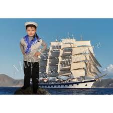 Детский костюм моряка купить в интернет магазине Мир Хлопка