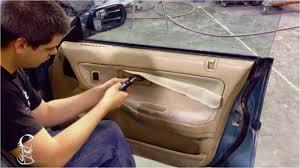 how to reupholster car interior door panels diy how to remove door trim panel acura integra