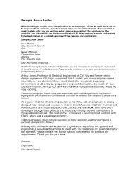 Cover Letter Generator Free Sample Resume Letters Job Application