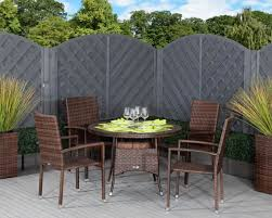 armed stacking rattan garden chairs
