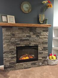 diy airstone electric fireplace ambroise maple mantle and the