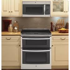 ge profile 66 total cu ft slidein self clean convection double oven range ge profile double oven c11