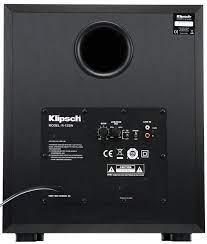 KLIPSCH R-12SW 12in 400w Powered Subwoofer Black