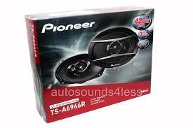 pioneer 6x9 speakers. new pioneer ts-a6966r 420 watts 6\ 6x9 speakers 5