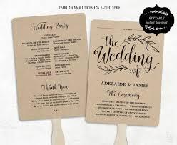 Free Printable Wedding Program Templates Microsoft Word Jornalismo