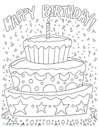 birthday coloring pages printable. Contemporary Birthday Happy Birthday Grandma Coloring Card Luxe Pages Printable  Free Page Intended Y