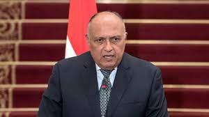 شكري: مصر دائما تقف بجوار أشقائها الفلسطينيين - بوابة أفريقيا الإخبارية