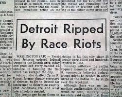 Image result for 1967–Detroit Riots