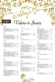 Wedding Seating Chart Poster Elegant Gold And Black Scroll Vine Seating Board Alphabetical Printed Seating Chart Pdf