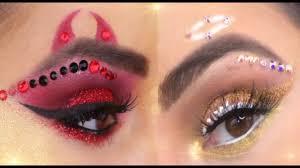 angel or devil makeup tutorial