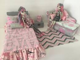 Details about Monster High furniture Bedroom set:Rochelle Goyle.Bed ...