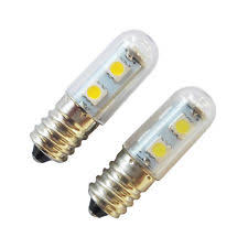 refrigerator light bulb. ac 220v e14 1w 7 led 5050 smd pure/warm white home refrigerator light bulb