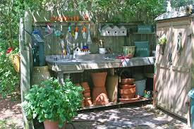 garden sinks. This Gardener Has An Outdoor Sink Where She Does Her Potting. Sink! I Took Photo Several Years Ago And I\u0027m Still Jealous. Garden Sinks A