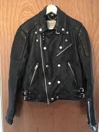 burberry brit quilted leather jacket ss13 prorsum motorocycle