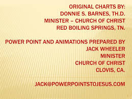 Ppt A Journey Through The Bible Dates Are Obviously