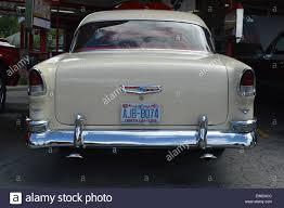 A 1955 Chevrolet Belair Hardtop Stock Photo, Royalty Free Image ...