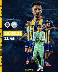 "Fenerbahçe SK on Twitter: ""🆚 Altay 🗓 29 Ağustos Pazar 🕙 21.45 🏟 Bornova  Aziz Kocaoğlu 📲 #ALTvFB… """