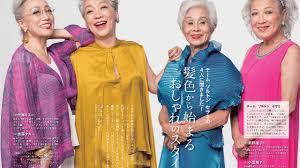 グレイヘアが流行中おしゃれ感度の高い50代60代女性に人気 華麗