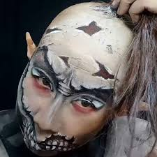 swipe left for another still from yesterday s creature this taken when i was l off the diy bald cap wig and elf ears