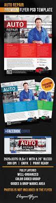 Auto Repair Flyer Auto Repair Flyer Psd Template
