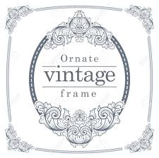 Wedding Ceremony Brochure Vintage Frames For Text Input A Meticulously Crafted Card