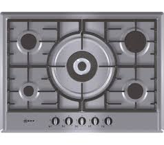 sentinel neff t25s56n0gb gas hob stainless steel currys