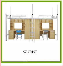 LIANSHENG factory bunk bed assembly instructionsBig lots furniture sale  metal corner bunk school bed with desk