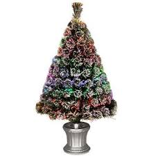 100  Small Fiber Optic Christmas Tree Target   2w Led Colorful Small Fiber Optic Christmas Tree Target