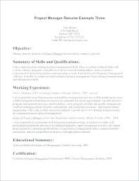 Resume Interests Section