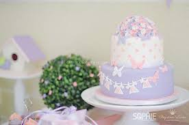 Karas Party Ideas Pink Lilac Purple Butterfly Flowers Girl Baby