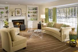 apartments awesome living room decorating ideas with cream sofa
