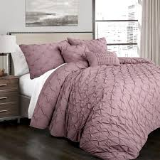 lush decor ravello pintuck comforter