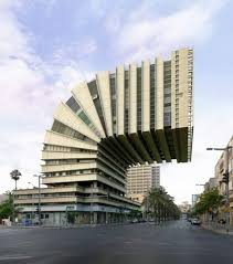 unique architectural buildings. Delighful Buildings Victor Enrich Photographed Buildings And Impossible Constructions He  Turned Architecture Here From Tel Aviv  Israel Into Improbable Surreal Shapes  To Unique Architectural Buildings
