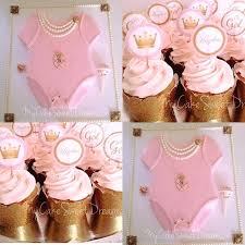 Princess Cupcakes For Baby Shower