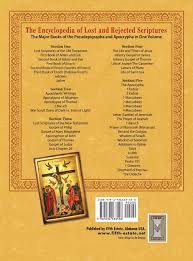the encyclopedia of lost and rejected scriptures the pseudepigrapha and apocrypha amazon co uk joseph b lumpkin 9781936533558 books