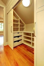 wall closet ideas slanted wall closet ideas slanted roof closet storage great idea for kids rooms