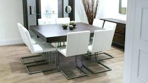 modern round kitchen table contemporary white kitchen table set modern dining 7 piece black upholstered chairs