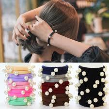 Buy1 Get1 <b>Korean</b> Hair Ropes <b>Rubber</b> Band <b>Elastic</b> Hair Ties ...