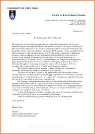 Academic Reference Letter Template Academic Reference Letter Template Writing Effective 15