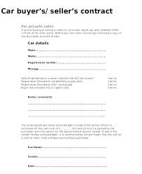 Automobile Sales Agreement Car Sale Agreement Sample Used Vehicle Sales Template
