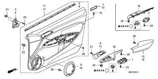 car door parts. Perfect Car Car Door Parts Plain Honda Civic Parts Section Lining Rh  Inside Intended Car Door Parts O