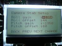 kk2 camera gimbal control from transmitter rc groups images