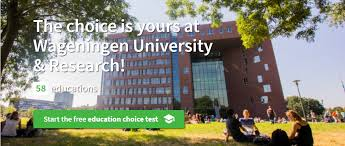 Study Choice Test Wur